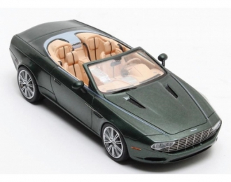 ASTON MARTIN DB9 Spider Zagato Centennial 2013 Metallic Green