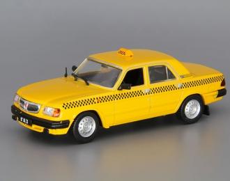 Горький 3110 Такси, Автомобиль на службе 9, желтый