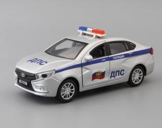 LADA Vesta ДПС Полиция, silver