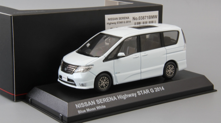 NISSAN Serena Highway Star G (2014), blue moon white