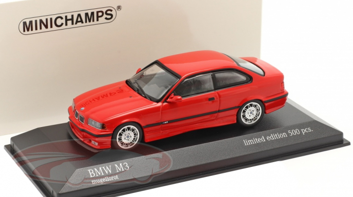 BMW M3 (E36) 1992 красный