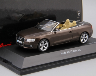 AUDI A5 Cabriolet (2009), brown