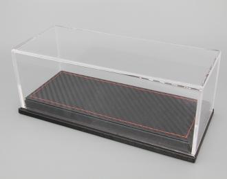 Прозрачный бокс подставка под карбон (173*70*68mm)