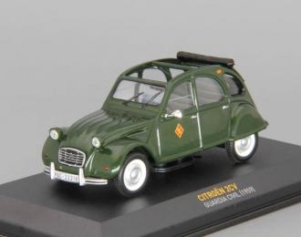 CITROEN 2CV Gurdia Civil (1959), green