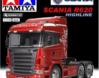 Сборная модель Радиоуправляемый тягач Scania R620 HighLine