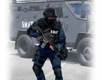 Сборная модель Фигура, Командир группы S.W.A.T.