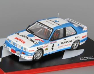 BMW M3 E30 #4 Rally Principe de Asturias Pep Bassas - Antonio Rodriguez (1989), white / blue