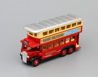 AEC Renown Double Deck Bus Pepsi-Cola