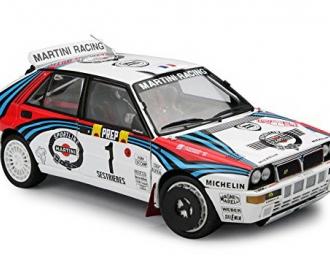 """Lancia Delta Rally """"Martini"""" #1 1992 Monte Carlo"""