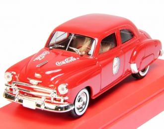 CHEVROLET Sedan Coca-Cola (1950), red