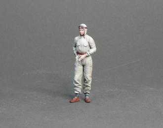 Фигура Немецкий гонщик Бернд Розмайер (масштаб 1:24), окрашенная