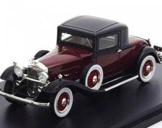 PACKARD 902 Standard Eight Coupe 1932 Dark Red / Black