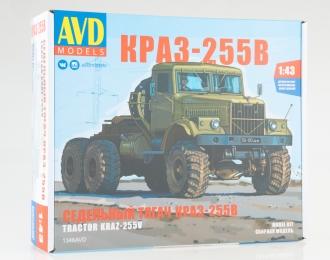 Сборная модель КРАЗ-255В cедельный тягач