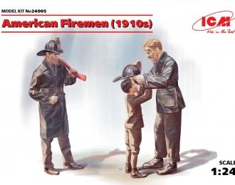 Сборная модель Американские пожарные (1910-е г.г.)