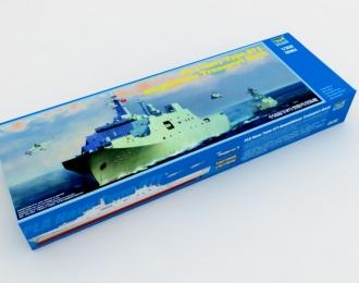 Сборная модель Китайский десантный корабль-док Тип 071