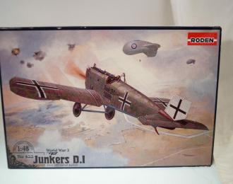 Сборная модель Junkers D.I (early)