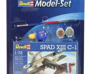 Сборная модель Французский истребитель Spad VII C-1 (Подарочный набор)