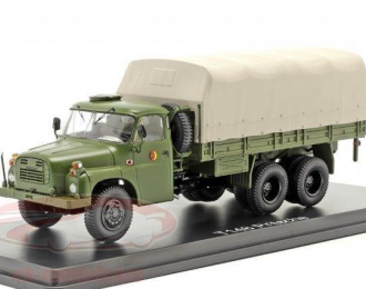 TATRA 148 NVA DDR (народная армия ГДР) грузовик с тентом 6х6 1975 Olive
