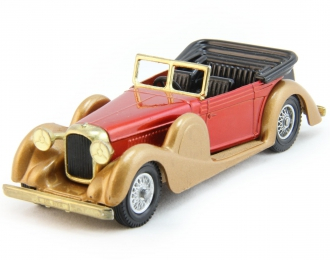 LAGONDA Drophead Coupe (1938), Models of Yesterday, gold / red