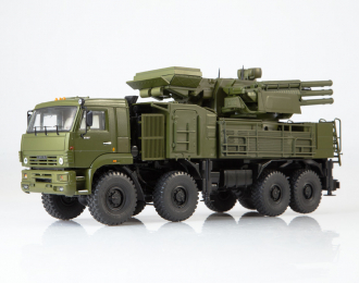 КАМАЗ-6560 ЗРПК 96К6 (Панцирь-С1), хаки