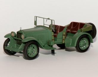 MERCEDES 8/38 typ Stuttgart 200 KUBELWAGEN 1929, серо-зеленый