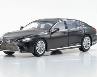 Lexus LS500h (graphite black)