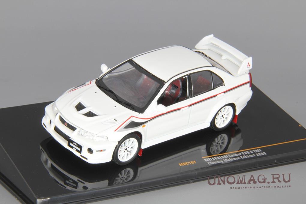 1//43 Scale model Mitsubishi Lancer Evolution X #63 J.Nikara//J.Kalliolepo
