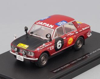 NISSAN Bluebird 1300SS #6 E A. Safari Rally 1966