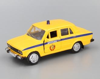 ВАЗ 2106 Милиция СССР, желтый