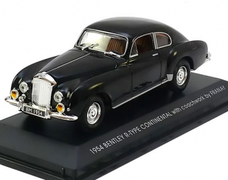 BENTLEY R-Type Continental with coachwork by Franay, black