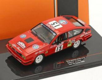 ALFA ROMEO GTV6 #15 Balas/Laine Tour de Corse 1986