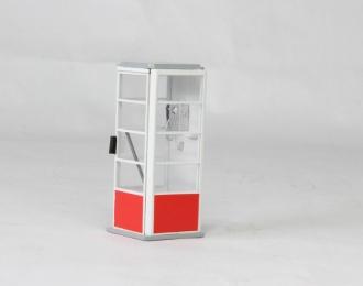 Телефонная будка образца 1980г (цветовая схема 1)