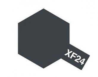 XF-24 Dark Grey (краска эмалевая, темно-серый матовый), 10мл.