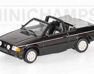 FORD Escort III Cabriolet 1983,  black