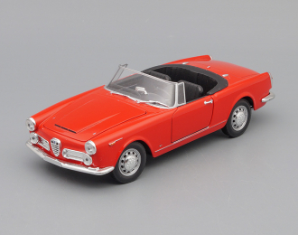 ALFA ROMEO Spider 2600 (1960), red