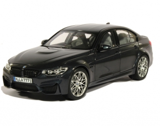 BMW M3 Berline Pack Competition F80 (2016), mineral grey metallic
