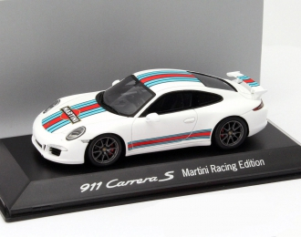 PORSCHE 911 991 Carrera S  Martini Racing Edition (2014). white