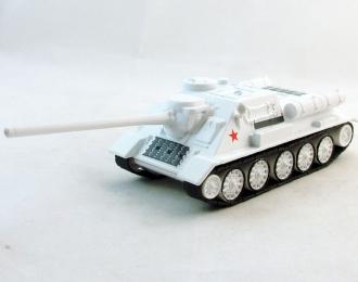 СУ-100 (зимний камуфляж), Русские танки 88