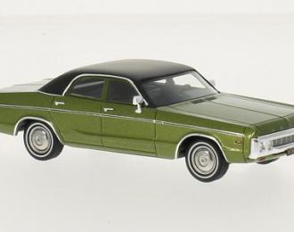DODGE Polara Sedan 1972 Metallic Green/Black