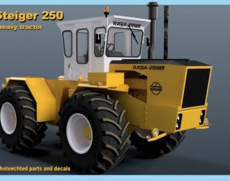 Сборная модель Трактор Raba-Steiger 250