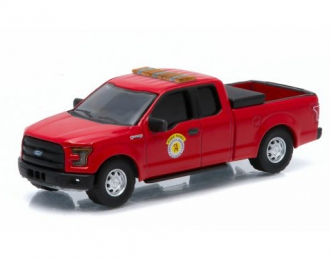 FORD F-150 Arlington Heights Public Works Truck (2015), red
