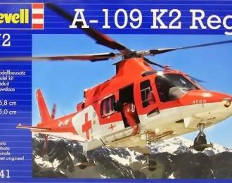 Сборная модель Швейцарский поисково-спасательный вертолет Agusta A-109 K2 REGA