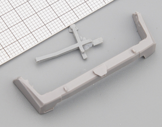 Задний бампер для внедорожного тюнинга УАЗ Патриот / UAZ Patriot, цена за шт.