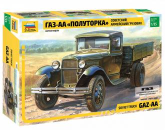 Сборная модель Советский армейский грузовик Горький-АА Полуторка