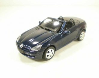MERCEDES-BENZ SLK 350 (2005), blue