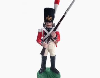 Фигурка Гренадер 3-го Швейцарского пехотного полка, 1812