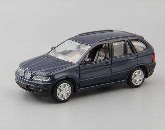 BMW X5 E53, blue
