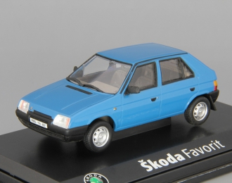 (Уценка!) SKODA Favorit 136L (1987), blue