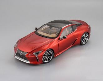 LEXUS LC500, red