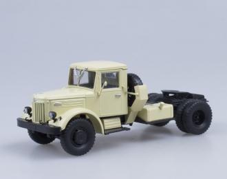 МАЗ 200В седельный тягач, бежевый